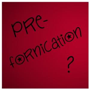 Prefornication