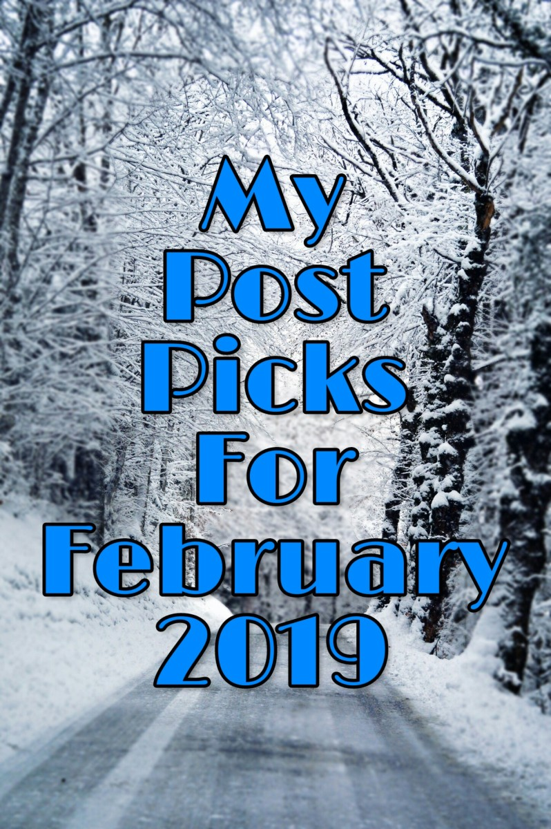My Post Picks For February 2019